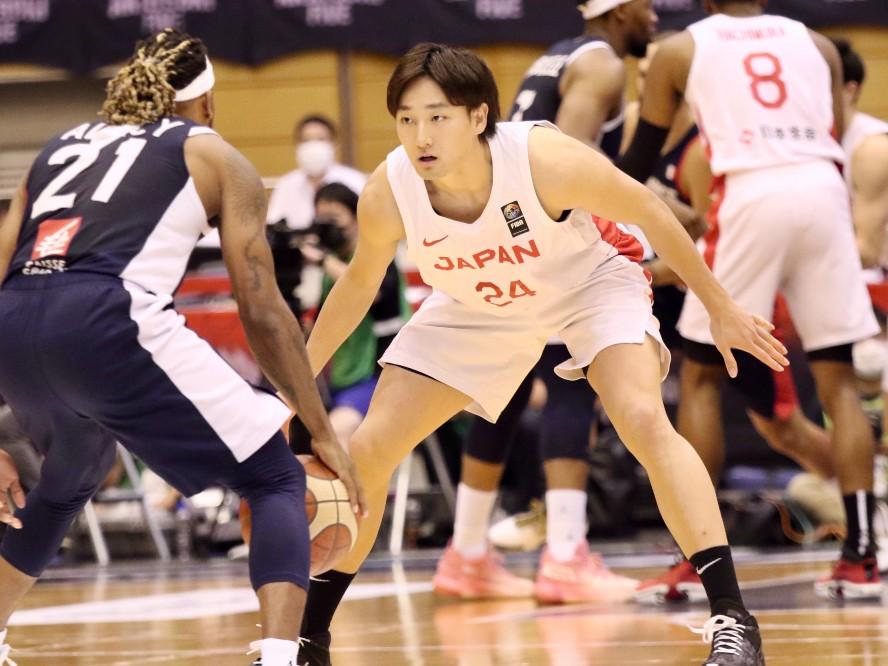 フランスから金星を挙げたバスケ日本代表、司令塔の田中大貴は「チームがもっと上手くいくように常に頭を働かせています」