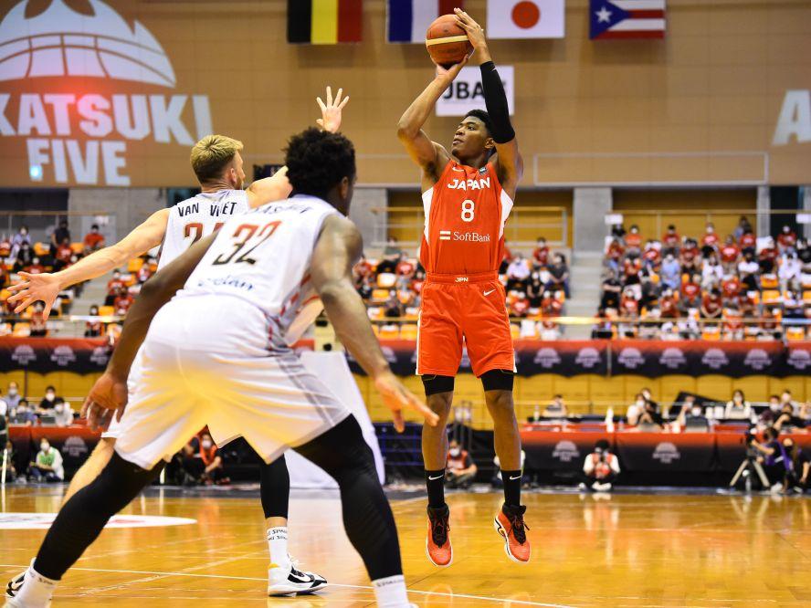 八村塁が日本代表復帰戦で『NBAの貫禄』の24得点、渡邊雄太と馬場雄大も含めて活躍すべき選手が活躍してベルギーに完勝