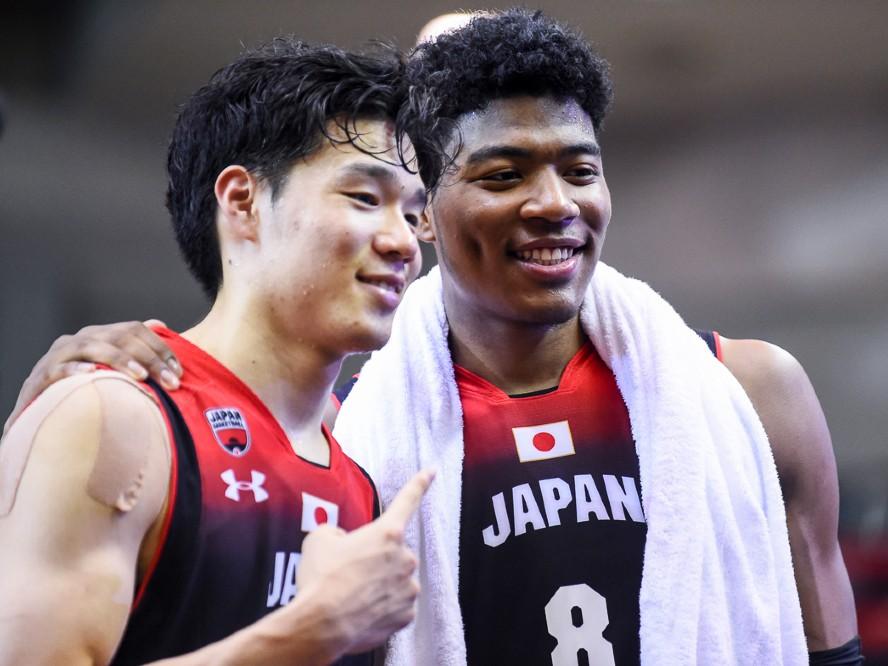 八村塁と馬場雄大が合流したバスケ男子日本代表、最後の国際強化試合に挑む12名のメンバーが決定