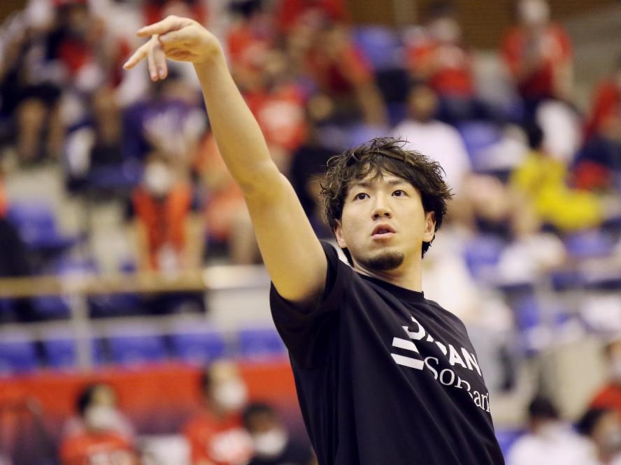 バスケ日本代表の勝利のキーマン、比江島慎、オリンピック本番に向け「ワールドカップの反省点を含めて出し切る」