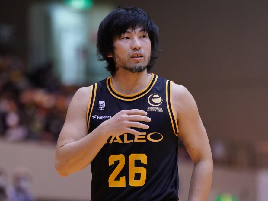 仙台89ERSの金城茂之が現役を引退、アシスタントコーチ兼スキルコーチに「紆余曲折ある楽しい14年間でした」