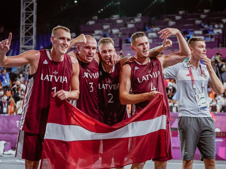 3x3男子ラトビア代表