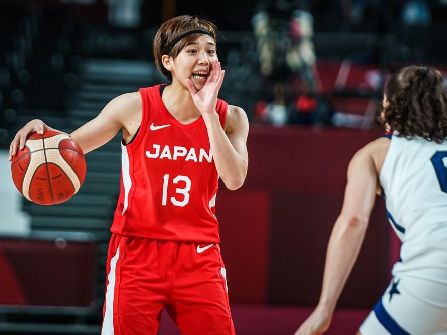 女王アメリカを苦しめたバスケ日本代表の司令塔、町田瑠唯が得た確信「勝てない相手ではないなとすごく感じた」