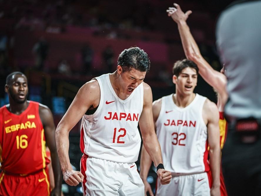 スペイン戦で手応えを得た日本代表、渡邊雄太はスロベニア戦に意欲「自分たちのバスケを貫けば絶対にチャンスはある」