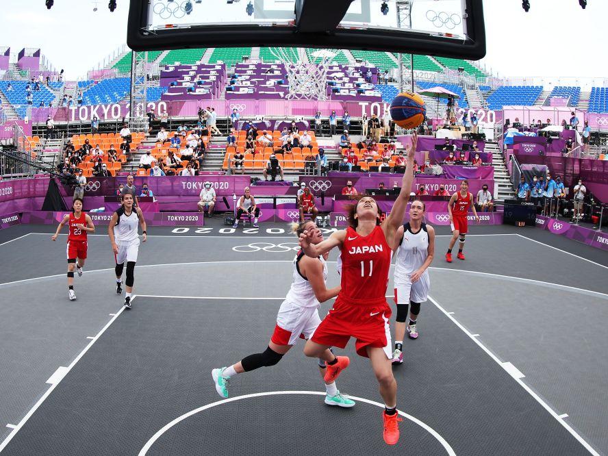オリンピックのバスケットボールは3x3の女子日本代表で幕開け、ROC相手に猛追を見せるもKO負けで初戦を落とす