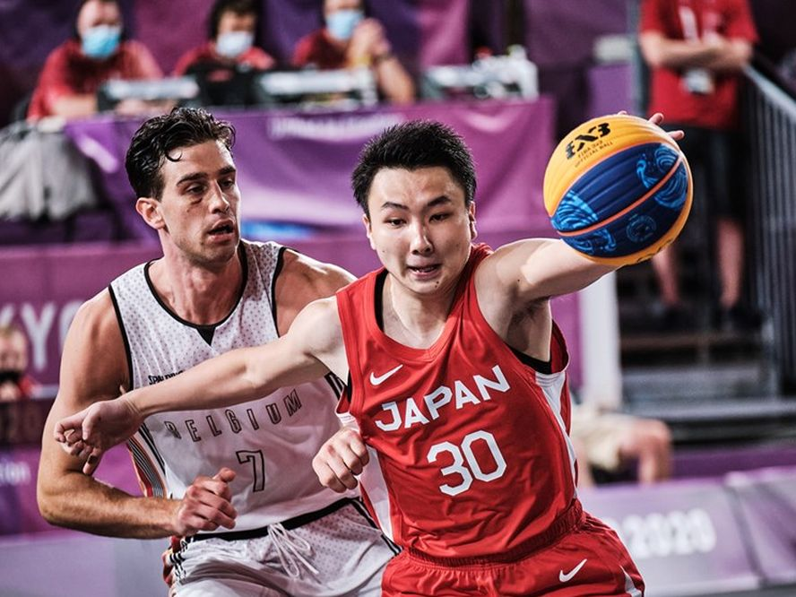 『和製ステフ・カリー』を目指す3x3日本代表のエース富永啓生、オリンピックデビューに「とにかく1勝できたことはうれしい」