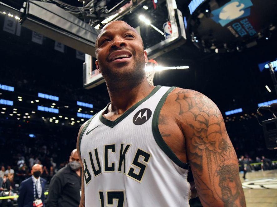NBAファイナルで古巣と対戦するバックスのPJ・タッカー「サンズが人生を変えてくれた」