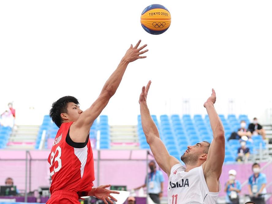 3x3男子日本代表、保岡龍斗が気を吐くも総合力の高さを見せつけられ無敗のセルビアに11-21の完敗