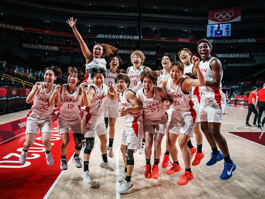 8月8日(日)『東京オリンピック』バスケ女子日本代表が金メダルを懸けてアメリカ代表と対戦!