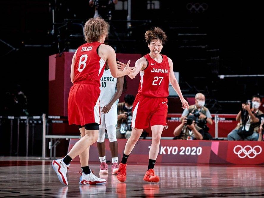 バスケ女子日本代表、3ポイントシュート爆発の理想的な試合運びでナイジェリアに快勝して決勝トーナメント進出