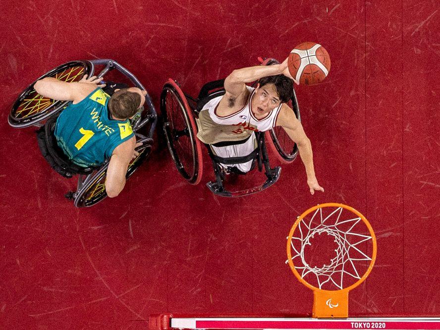 鋭い動きで車いすバスケ日本代表の攻守を支えた鳥海連志「来年のU23世界選手権、そこでメダルを獲得するのが次の目標」