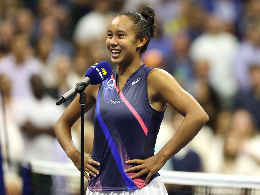 全米オープン決勝に進出した19歳のレイラ・フェルナンデス、スティーブ・ナッシュの応援に感謝「本当に光栄なこと」