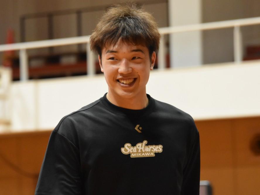 西田優大はチーム刷新のシーホース三河で新たなエースに「ディフェンスの強度を上げて走るバスケができれば」