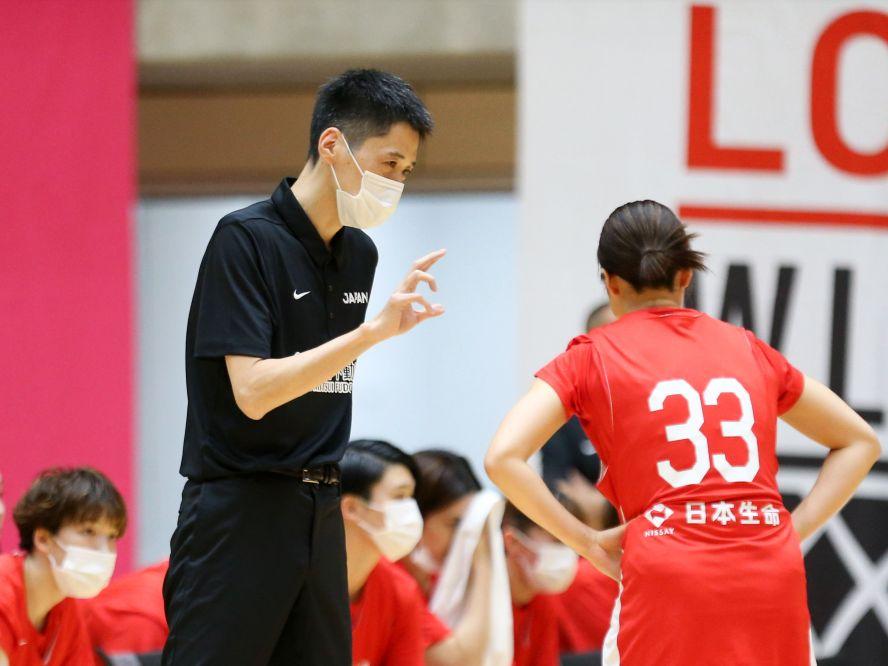 林咲希などオリンピックメンバーも参加して再始動したバスケ日本代表、恩塚亨ヘッドコーチの下でアジアカップ5連覇を目指す