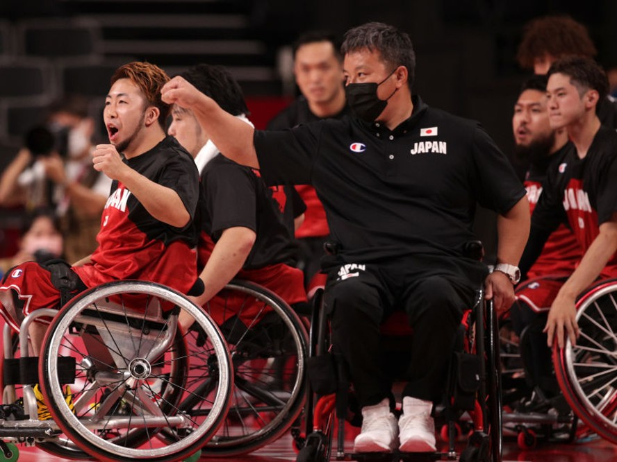 トランジションバスケが爆発した車いすバスケ男子日本代表が史上初の快挙、イギリスを破り銀メダル以上が確定